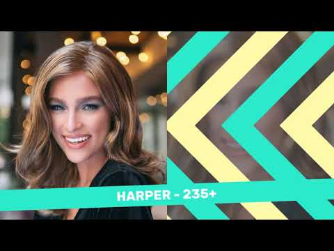 HARPER - LONG WAVES - lace front mono part wig