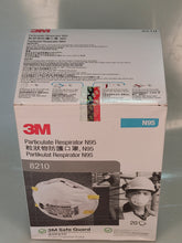 Load image into Gallery viewer, 3M 8210 N95 Mask (Box of 20)