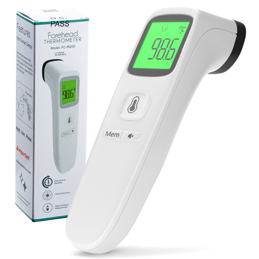 Non Contact Forehead Infrared Thermometer FC-IR200
