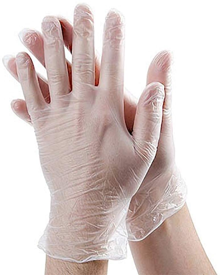 Vinyl Gloves - Size Large (Box of 100)