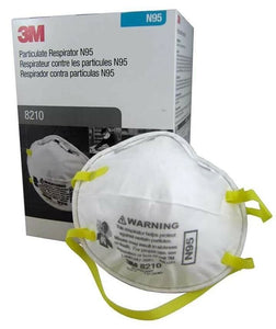3M 8210 N95 Mask (Box of 20)