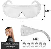 Load image into Gallery viewer, 12 Protective Safety Glasses Goggles (Individually Wrapped)