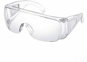 12 Protective Safety Glasses Goggles (Individually Wrapped)