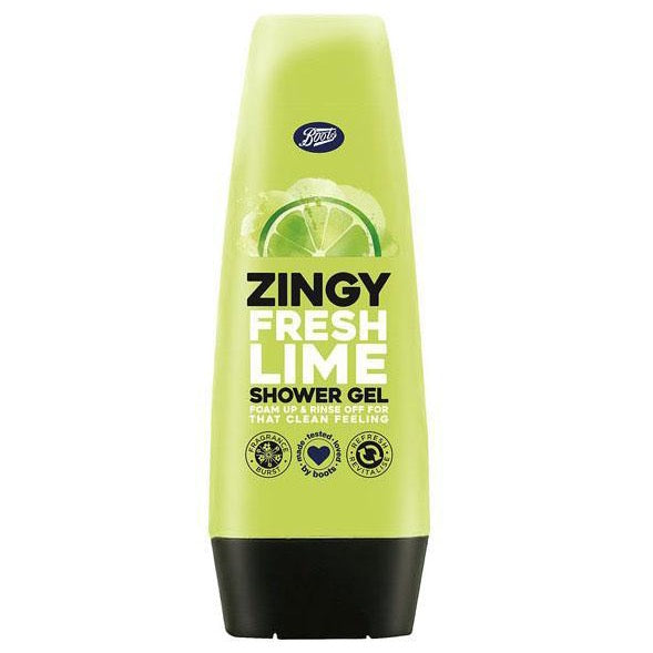Boots Zingy Fresh Lime Shower Gel 250ml