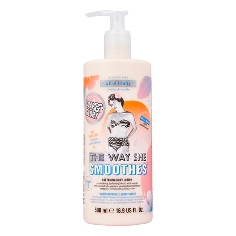لوشن الجسم The Way She Smoothes من Soap & Glory بسعة 500 مل - برائحة Call of Fruity