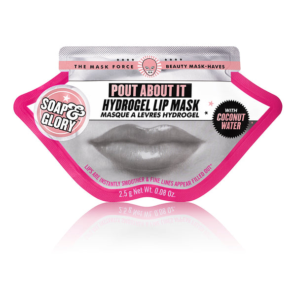 Soap & Glory Pout About It Hydrogel Lip Mask
