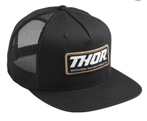 THOR TRUCKERS CAP BLACK