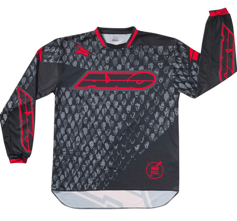 AXO DYEMAX JERSEY BLACK/RED