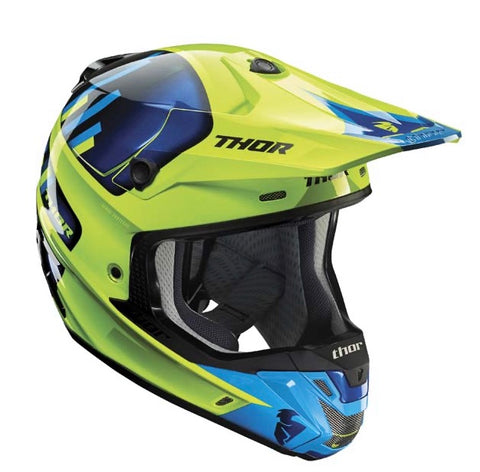 THOR VERGE VORTECHS GREEN/NAVY
