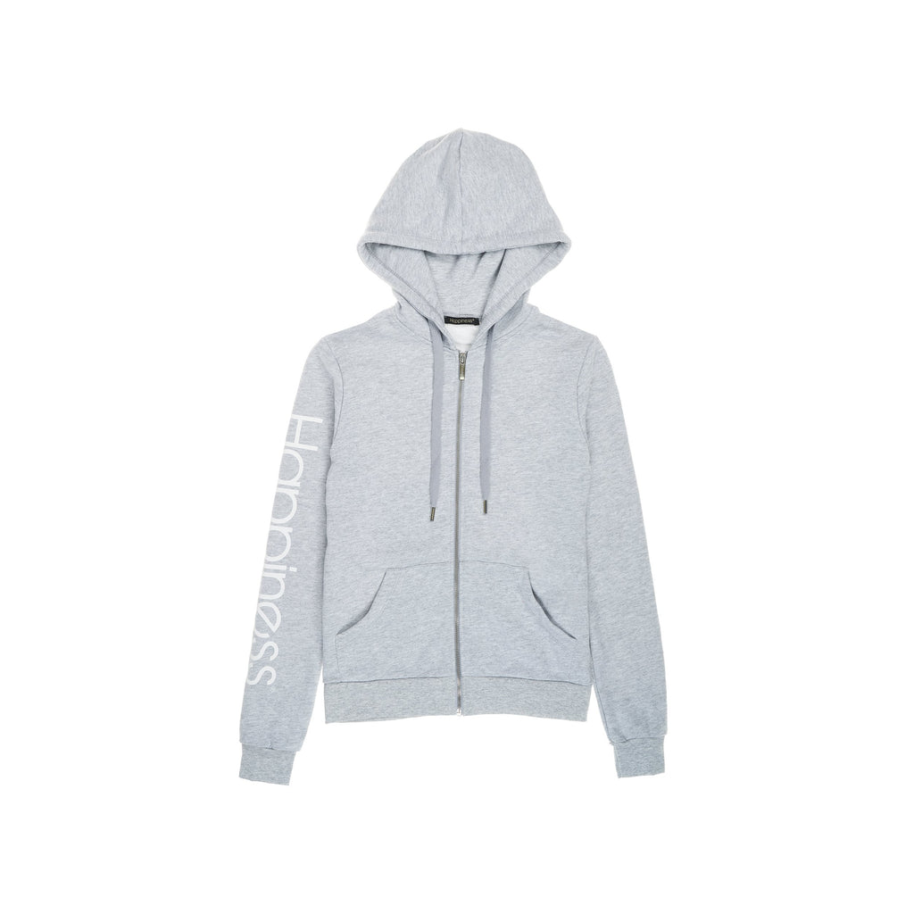 Felpa Zip Donna - Happiness Logo - Happiness Shop Online