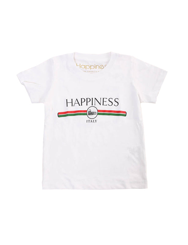 T-Shirt Bambino - Fw Logo Italy - Happiness Shop Online