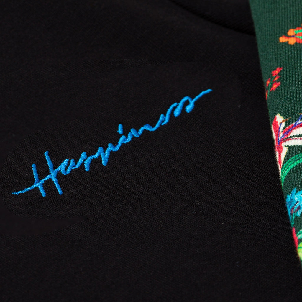 Crew Donna - Happiness Band Green Floreal - Happiness Shop Online