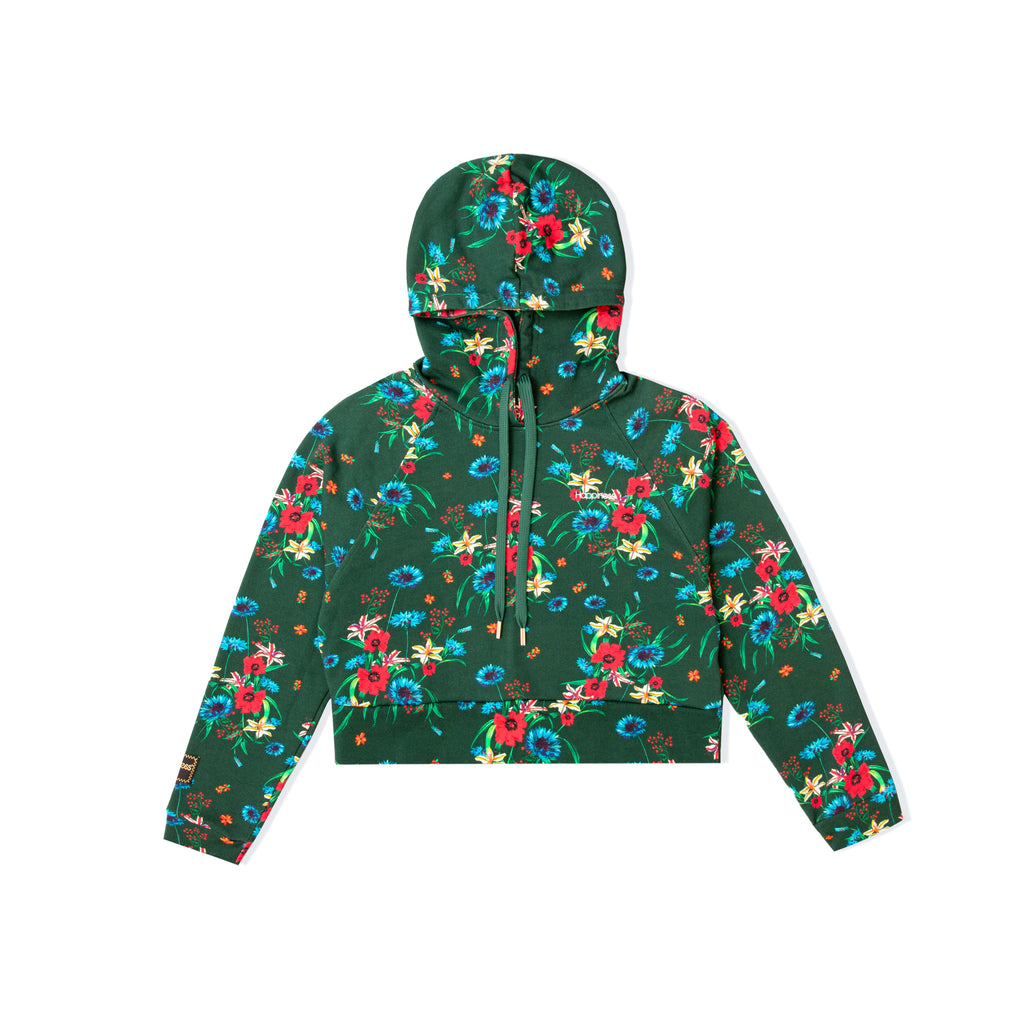 JoJo Donna - Happiness Back Logo Green Floreal - Happiness Shop Online