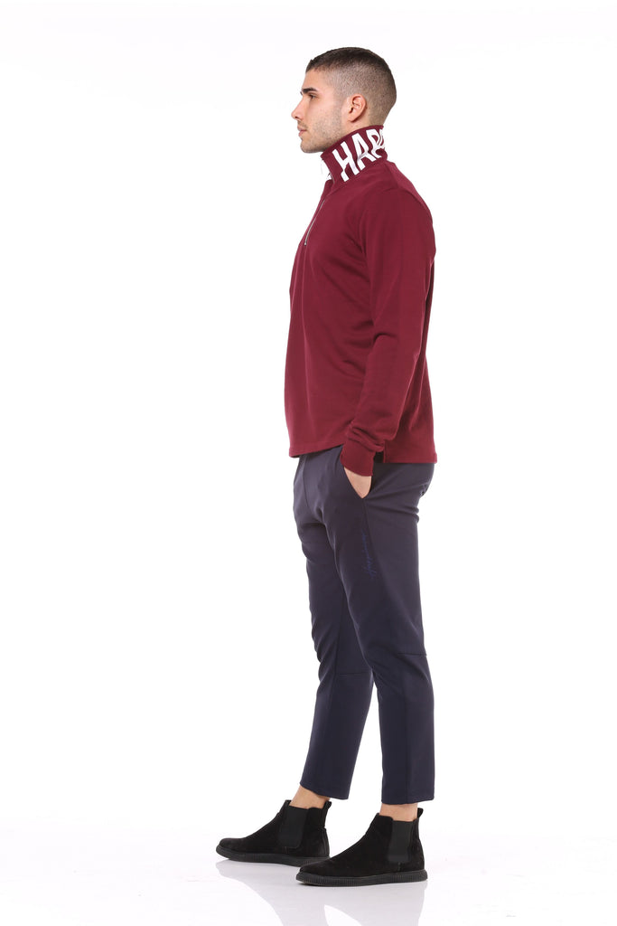Crew Zip Uomo - Happiness Neck - Happiness Shop Online