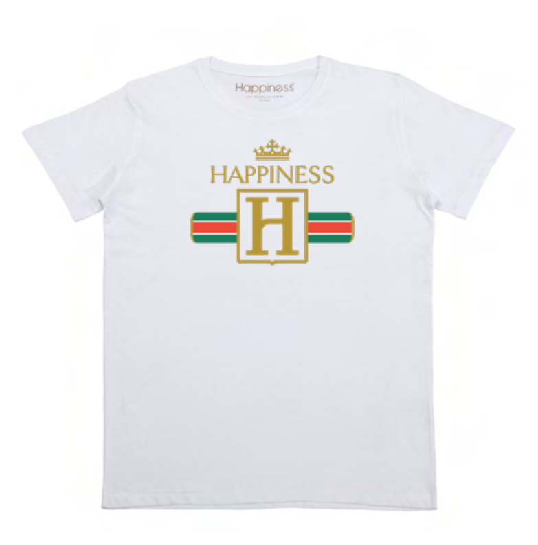 T-shirt Uomo - Happiness Crown - Happiness Shop Online