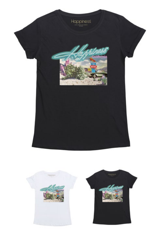 T-Shirt Donna - Rocket Inn Motel - Happiness Shop Online