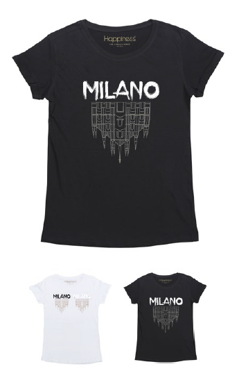 T-Shirt Donna - Milano Dome - Happiness Shop Online