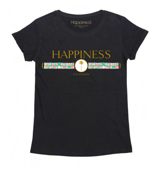 T-Shirt Bimba - Logo Palma and Stone - Happiness Shop Online
