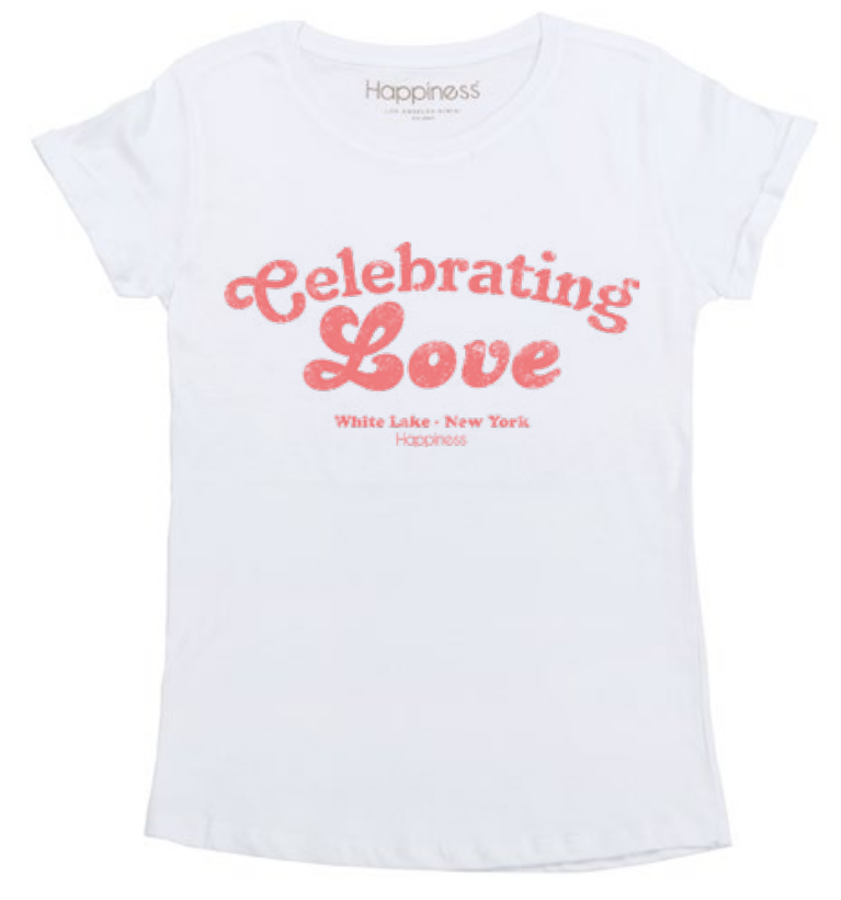 T-Shirt Donna - Celebrating Love - Happiness Shop Online