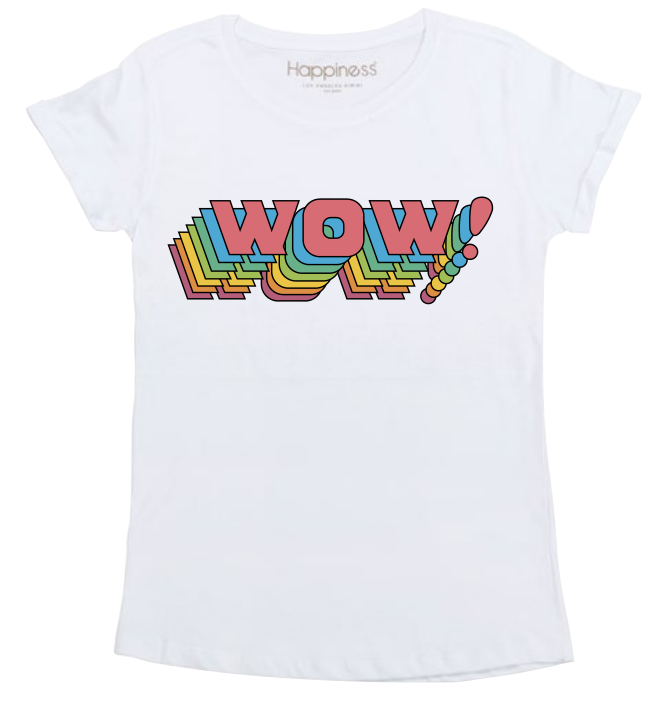 T-Shirt Donna - Wow! - Happiness Shop Online