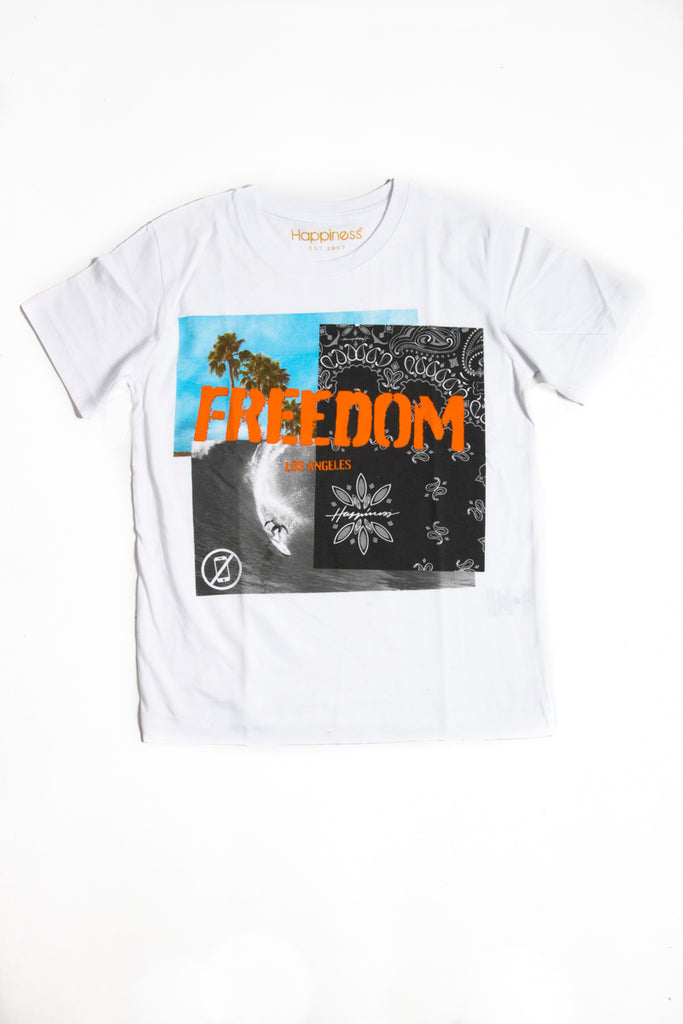 T-shirt Uomo - Freedom - Happiness Shop Online