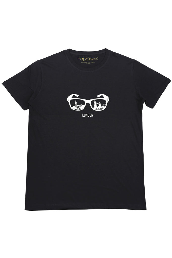 T-shirt Uomo - London Sunglasses - Happiness Shop Online