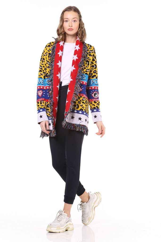 Cardigan Donna - Fantasy Happiness - Happiness Shop Online