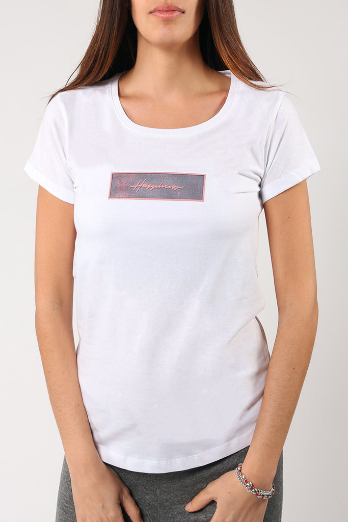 T-Shirt Donna - Neon Happiness - Happiness Shop Online