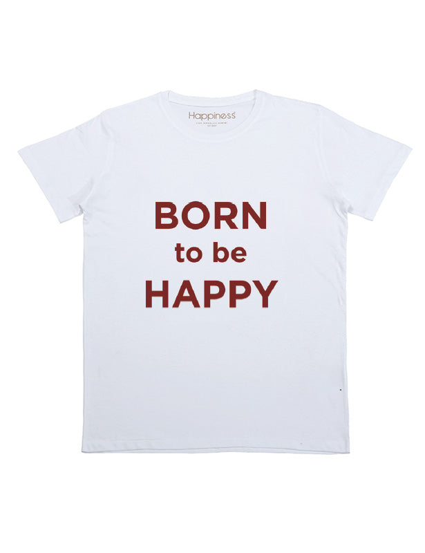 T-Shirt Bambino -Born To Be Happy - Happiness Shop Online