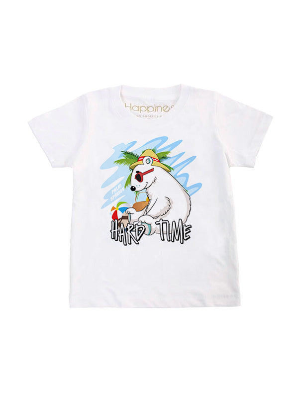 T-Shirt Bambino - Polar Hard Time - Happiness Shop Online