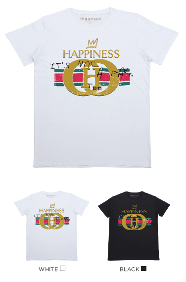 T-Shirt Bimbo - Happiness Not A Fake - Laminata - Happiness Shop Online