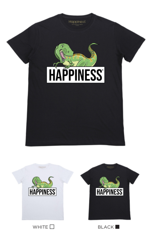 T-Shirt Bimbo - Dino - Happiness Shop Online