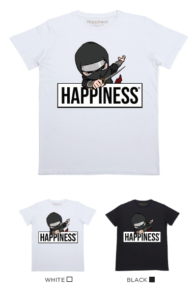 T-Shirt Bimbo - Happiness Ninja - Happiness Shop Online