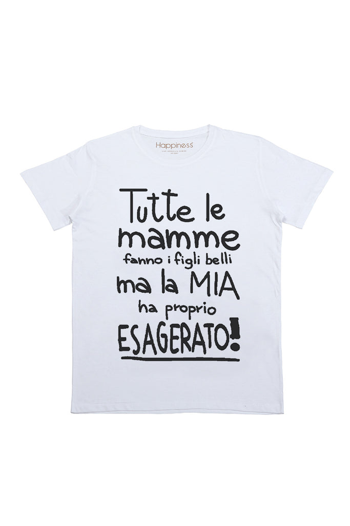 T-Shirt Bambino - Tutte Le Mamme - Happiness Shop Online