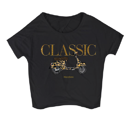 T-Shirt Bliss Donna - Classic Vespa - Happiness Shop Online
