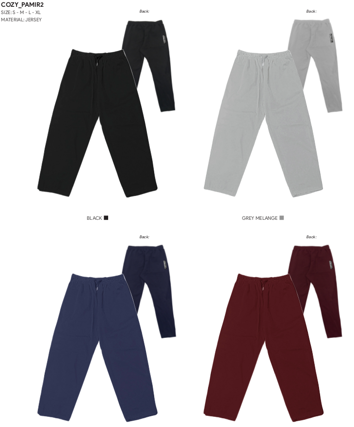 Pantalone Uomo Cozy Pamir - Happiness Shop Online