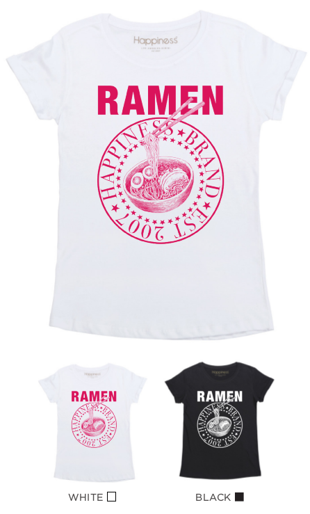 T-Shirt Donna - Ramen - Happiness Shop Online