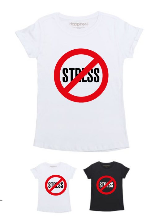 T-Shirt Donna - No Stress - Happiness Shop Online