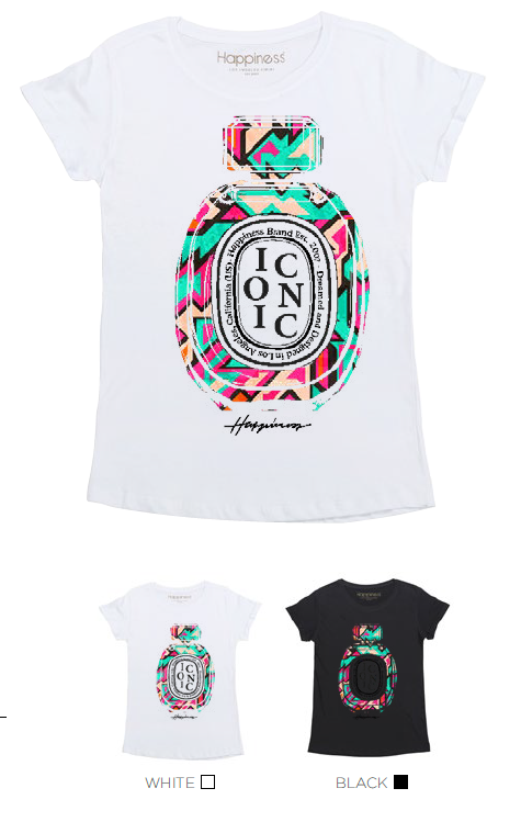 T-Shirt Donna - Iconic Perfume - Happiness Shop Online
