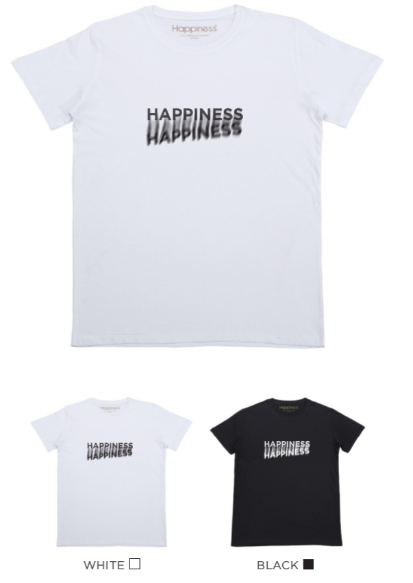 T-shirt Uomo - Happiness Shadow - Happiness Shop Online