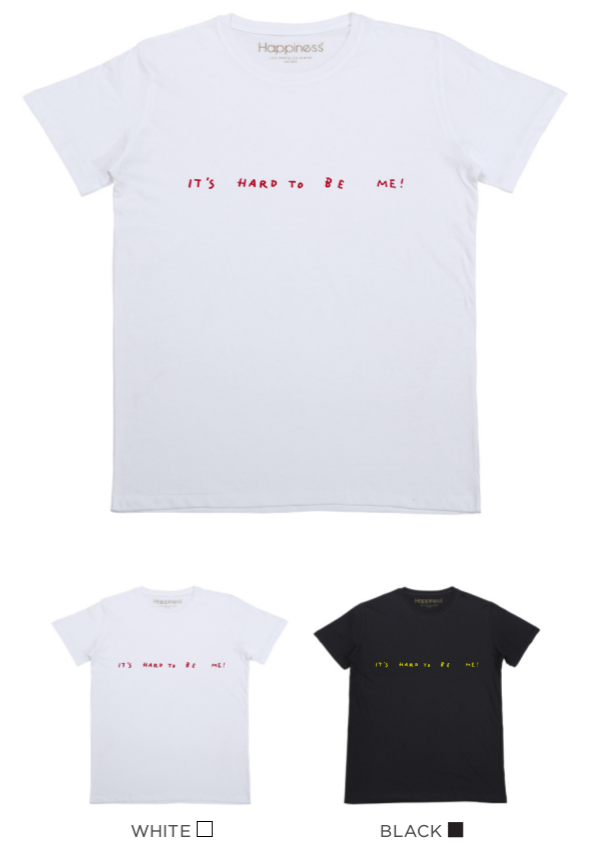 T-shirt Uomo - Hard To Be Me - Happiness Shop Online