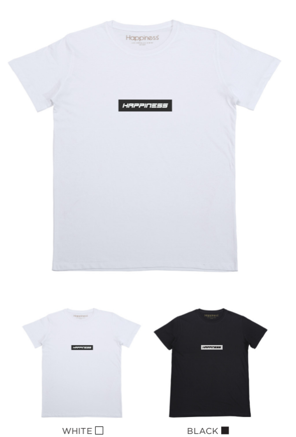 T-shirt Uomo - New Small Logo - Happiness Shop Online