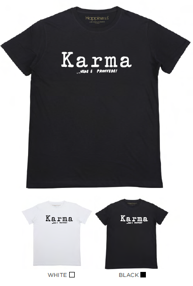 T-shirt Uomo - Karma - Happiness Shop Online