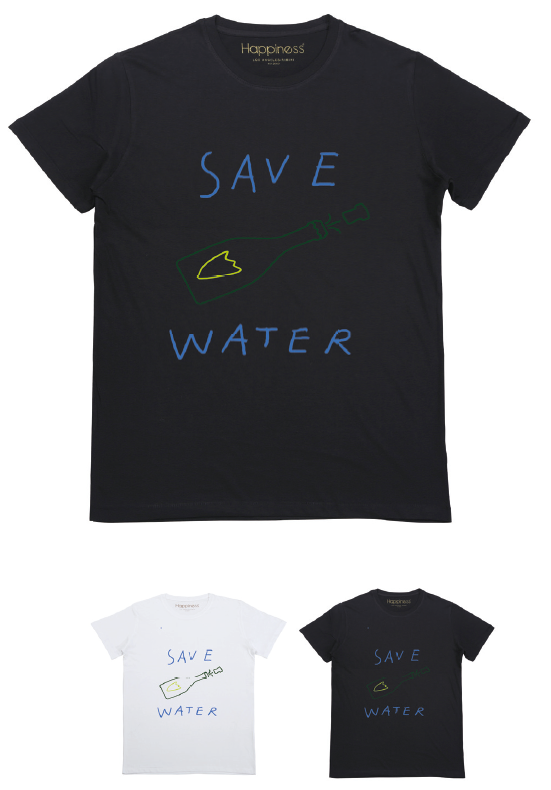 T-shirt Uomo - Save Water - Happiness Shop Online