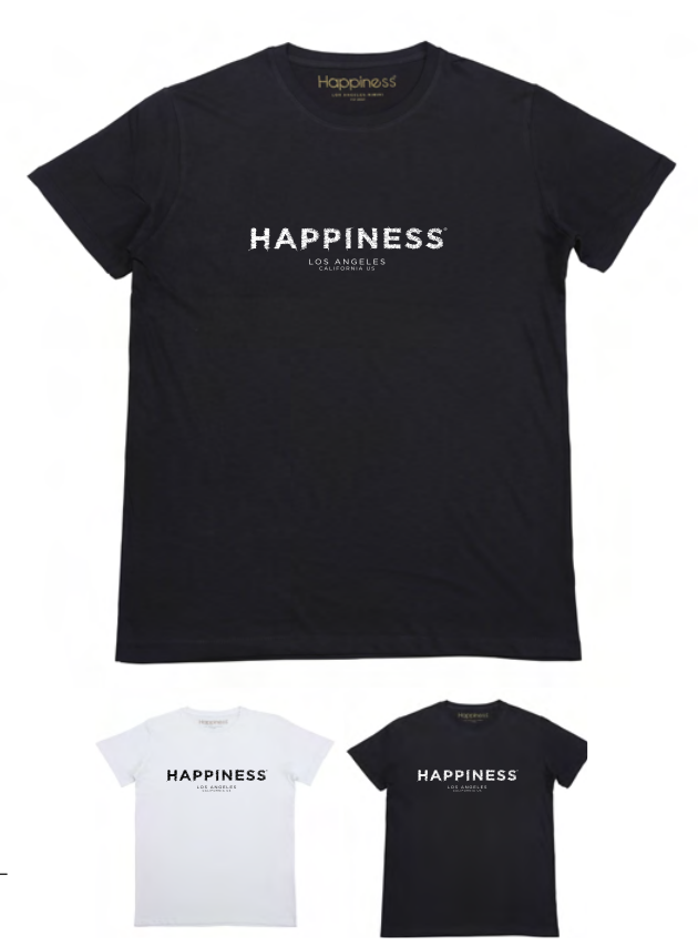 T-shirt Uomo - Happiness Embroidered - Happiness Shop Online