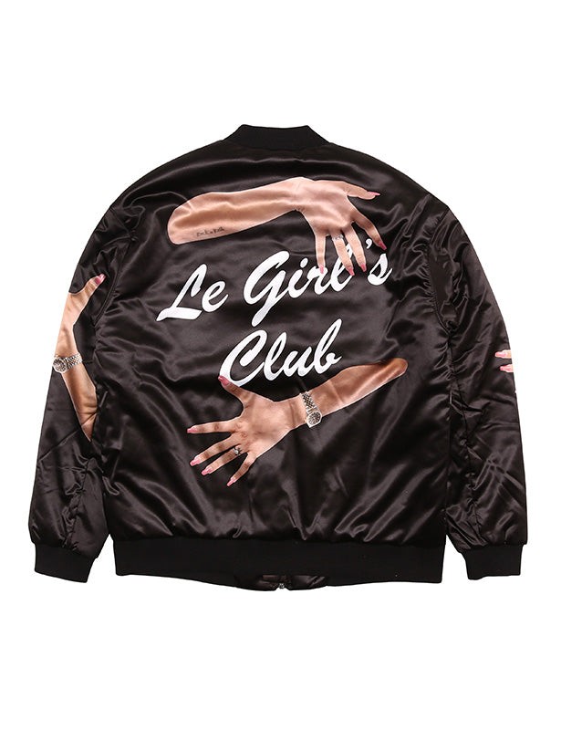 Bomber Xenia Le Girl's Club - Happiness Shop Online