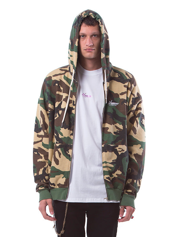 Zip Man Camo - Happiness Shop Online
