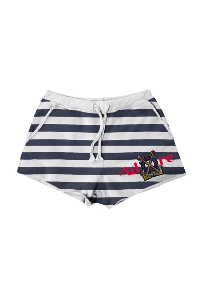 Shorts Donna - Happiness Sail Patch - Happiness Shop Online