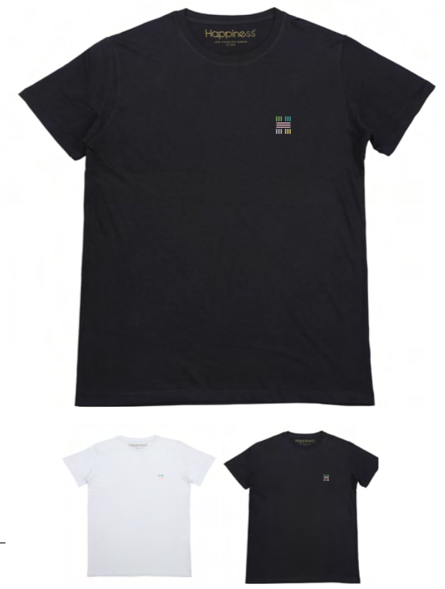 T-shirt Uomo - H Multicolor - Happiness Shop Online