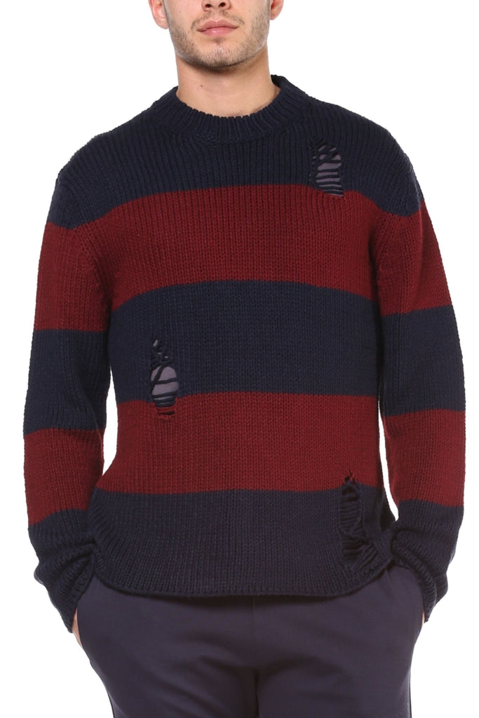 Maglione Uomo - Maddox Holes - Happiness Shop Online